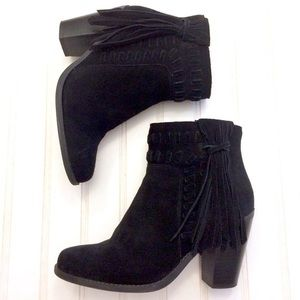 Jessica Simpson Chassie Fringe Boot